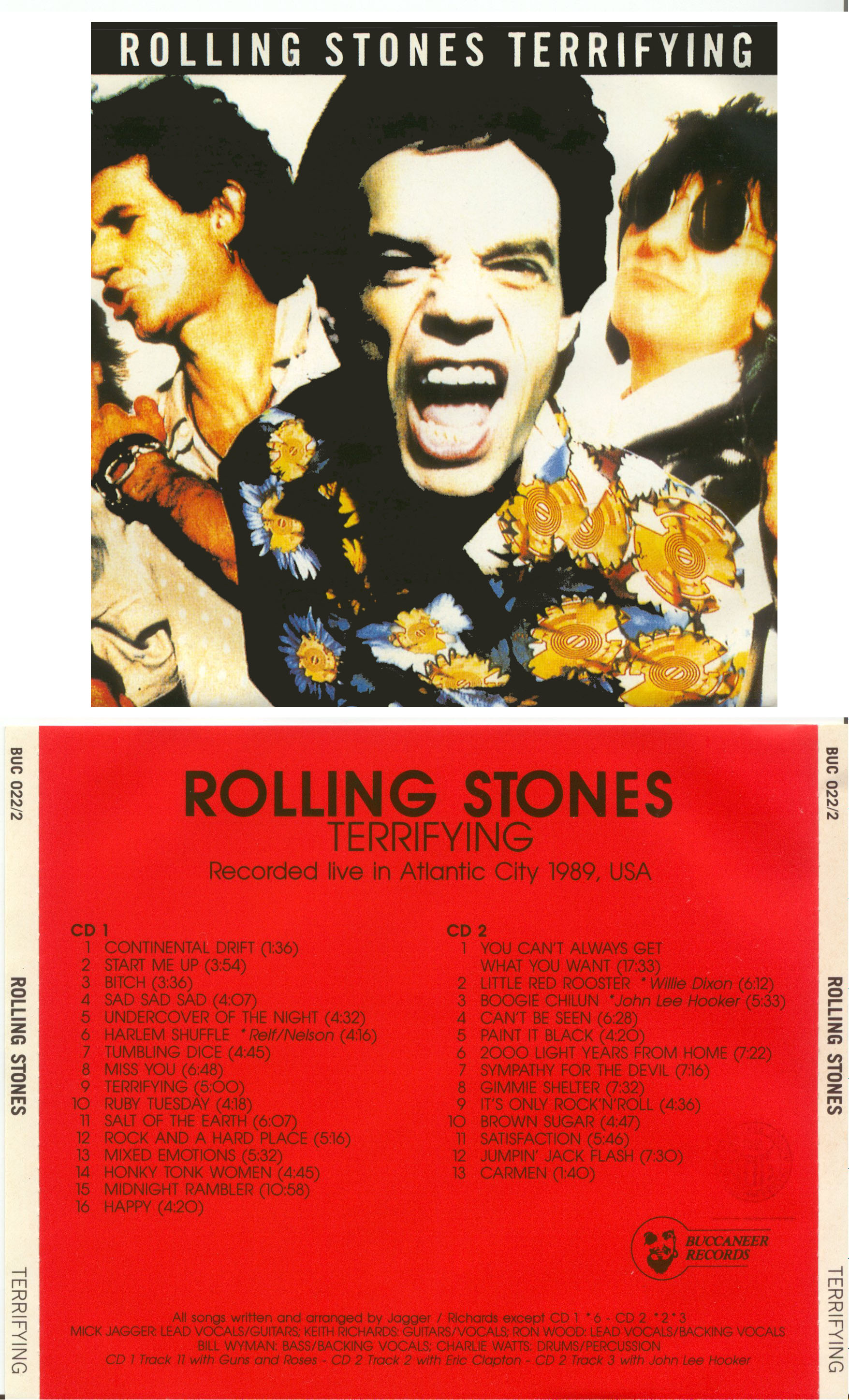 Maniac Paul S Bootlegs Rolling Stones Terrifying