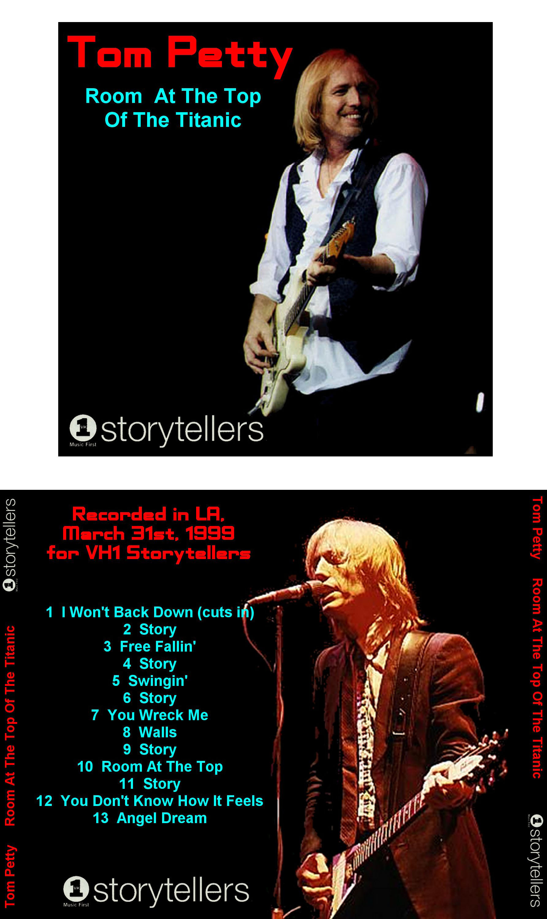 Maniac Paul S Bootlegs Tom Petty Room At The Top Of