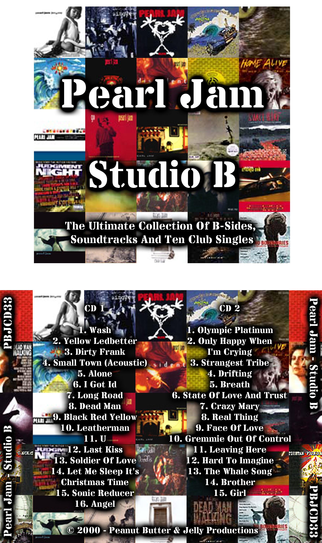Maniac Paul's Bootlegs - Pearl Jam - Studio B - Various ...